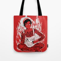 Housewife From Hell Tote Bag