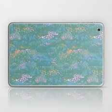 Blue Life in Death Valley Laptop & iPad Skin