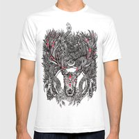 Lonach Mens Fitted Tee White SMALL