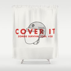 Cover it - Zombie Survival Tools Shower Curtain