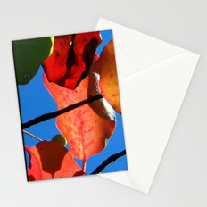 More Fall Leaves Stationery Cards
