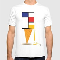 Ice-cream Museum Mens Fitted Tee White SMALL