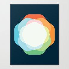 Cacho Shapes XXI Canvas Print