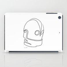 One line Iron Giant iPad Case
