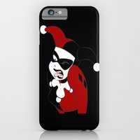 iPhone Cases featuring Harley quinn by Angela Ortiz