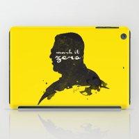 Mark It Zero –Walter… iPad Case