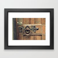 Come On In Framed Art Print