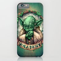 iPhone & iPod Case featuring YoDaBeSt by Tim Shumate