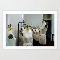 Model ladies Art Print