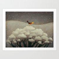 star Art Prints featuring Lost Star by Paolo Domeniconi