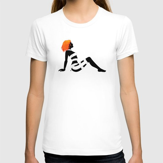 Leeloo Dallas Mudflap T-shirt