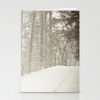 Stopping By A Snowy Wood… Stationery Cards