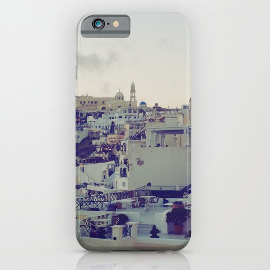 Fira at Dusk IV iPhone & iPod Case