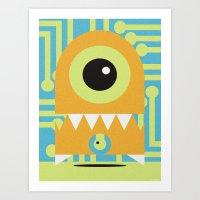 NANOBOT Art Print