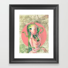 Medusa Framed Art Print