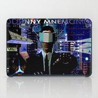 JOHNNY MNEMONIC iPad Case