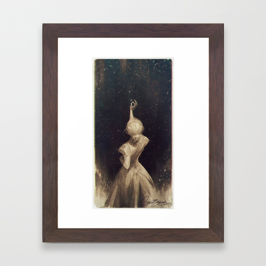 People Framed Art Prints Society6