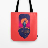 Awakening In A Strange L… Tote Bag