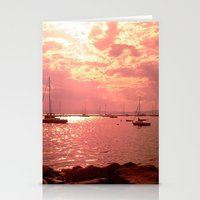 Red Lake Stationery Cards
