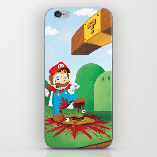 Mario Mess iPhone & iPod Skin