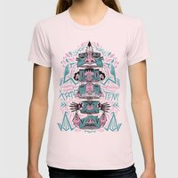 Toto-Tem Womens Fitted Tee Light Pink SMALL