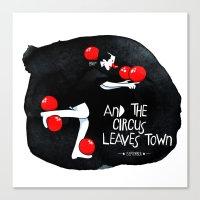 Circus - Balance Canvas Print