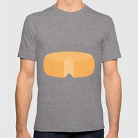 #20 Cheese Wheel Mens Fitted Tee Tri-Grey SMALL