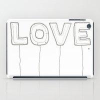 Balloon Love iPad Case