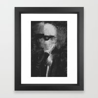 Karl Lagerfeld Star Futurism Limited Framed Art Print