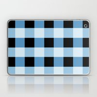 Blue Squares Laptop & iPad Skin