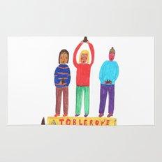 Toblerone. Rug