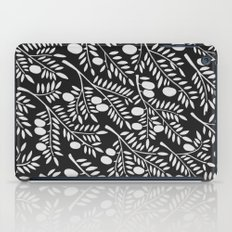 White Olive Branches iPad Case