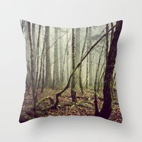 Out In The Woods Today Throw Pillow
