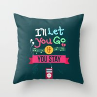 IF I STAY: I'll Let You Go Throw Pillow