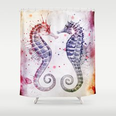 Guardians of the Sea II Shower Curtain