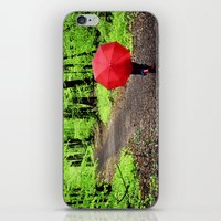 Rainy Woods iPhone & iPod Skin