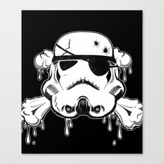 Pirate Trooper - Black Canvas Print