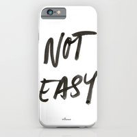 Not Easy iPhone 6 Slim Case