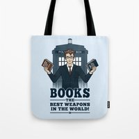 The Best Weapons in the World Tote Bag