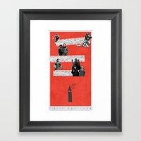 London on Film Framed Art Print