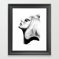 Mirrored Compassion Framed Art Print
