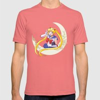 Sailor Moon Mens Fitted Tee Pomegranate SMALL