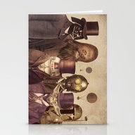 Stationery Cards featuring Victorian Wars  by Terry Fan