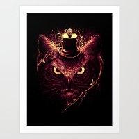 Meowl Art Print