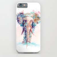 iPhone Cases featuring Elephant by I AM DIMITRI