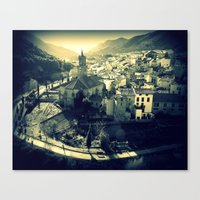 Panorama Of Arnedillo Canvas Print