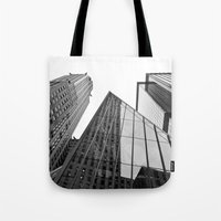 New York Building Tote Bag