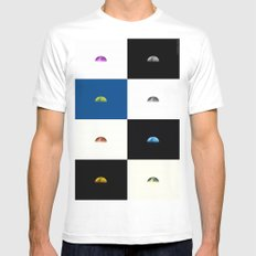 Lunamosity Mens Fitted Tee White SMALL