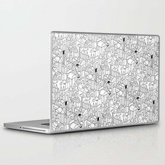 Little Escher's Building Blocks Laptop & iPad Skin