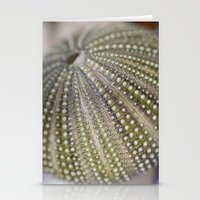 Urchin Texture Stationery Cards